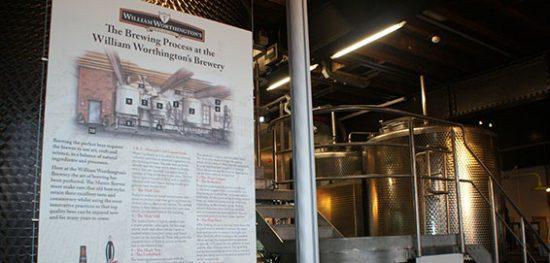 William Worthington Micro-brewery. Burton upon Trent