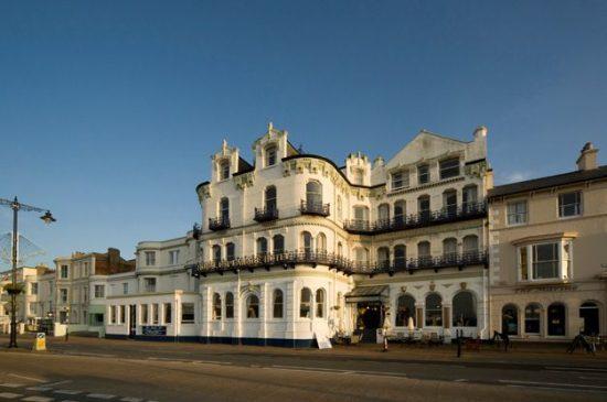 The Royale Esplanade Hotel. Isle of Wight.