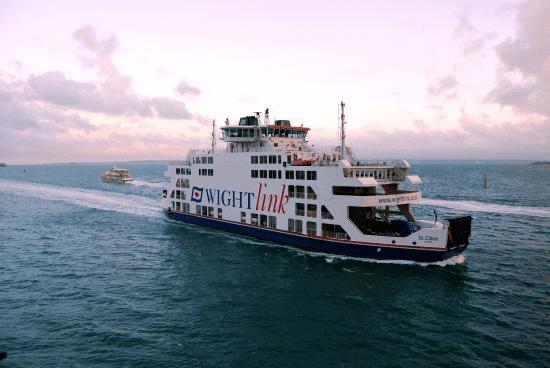 On board TV Whitelink Ferries